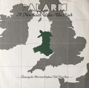 "Alarm (The) ‎- A New South Wales (12"") (VG/VG+)"